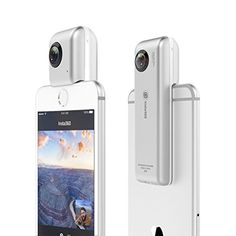 Insta360 Nano 360 degree Dual lens VR Video Camera for iPhone 7 / 7P / 6S / 6SP / 6 / 6P - https://www.buy-accessories.net/shop/electronics/insta360-nano-360-degree-dual-lens-vr-video-camera-for-iphone-7-7p-6s-6sp-6-6p/