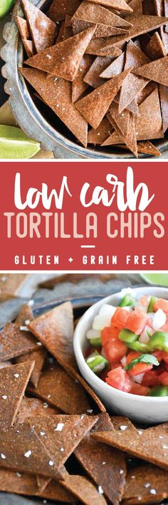 Instead of hopelessly waiting for someone to sell em', why not just make your own Low Carb Tortilla Chips? #lowcarb #keto #recipe #grainfree #cheese #healthy via @https://www.pinterest.com/thelittlepine