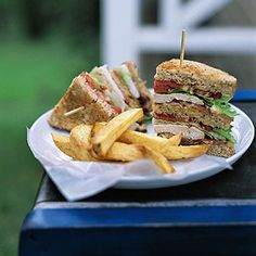 The Essential Club Sandwich