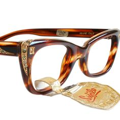 Vintage Tortoiseshell Cat Eye Glasses by Safilo