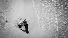 A child on the beach - Florida, United States - Black and white street photography Kristiansand Norway, Cliffs Of Moher, Florida Beaches, More Pictures, Street Photography, Web Design, United States, Black And White, Gallery