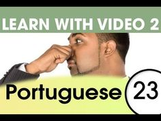 Learn Portuguese with Video - How to Put Feelings into Brazilian Portuguese Words Learn To Speak Portuguese, Portuguese Words, Learn Brazilian Portuguese, Portuguese Lessons, Portuguese Language, Italian Language, German Language, Dutch Words, German Words