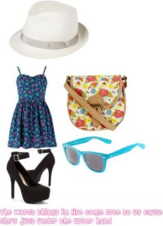 """""""The a team"""" by kirstenchavez ❤ liked on Polyvore"""