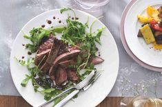 Steak z hovězího pupku s pečenou zeleninou | Apetitonline.cz