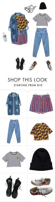 """""""if u say so"""" by jellycove ❤ liked on Polyvore featuring Chicnova Fashion, Pull&Bear, Marni, NLY Accessories, Dr. Martens, Converse, men's fashion and menswear"""