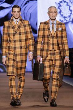 Etro Menswear Fall Winter 2014 Milan