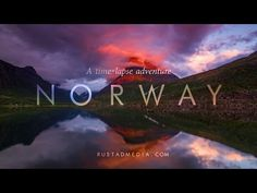 NORWAY - A Time-Lapse Adventure. This is a time-lapse video resulting from a km road trip. The journey has covered all of Norway's 19 counties, from the far south to the Russian border in the Northeast. Lofoten, Time Lapse Film, Les Fjords, Beautiful Norway, Time Lapse Photography, Best Speakers, Visit Norway, Thinking Day, Travel Videos