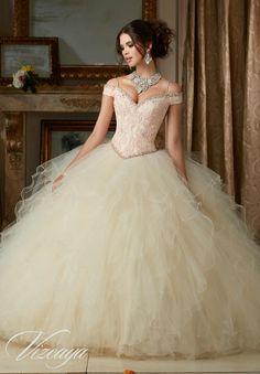 Champagne ballgown