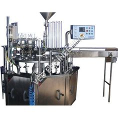 VED ENGINEERING - Manufacturer,Supplier and Exporter of Double Head Cup Filling Machine based in Noida, Uttar Pradesh, India. Buy Double Head Cup Filling Machine at best price. Process Engineering, Lockers, Locker Storage, Desk, Pouches, Bottles, Cups, Packaging, Furniture