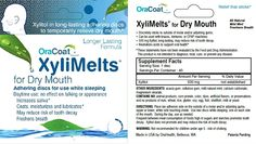 Product Review: XyliMelts for dry mouth.