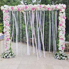 Arca florală din acest weekend decorată in cascadă din dantelă ajurată și cristale suspendate.  #solodecormd #weddingdecoration #weddingarch #decor #decoration #florist #floristry #instawedding #wedding #nunta #nuntainmoldova #weddingday #weddingceremony #weddinginmoldova #instaflowers #weddingflowers #nuntadecor Wedding Decorations, Photo And Video, Floral, Instagram, Home Decor, Decoration Home, Room Decor, Flowers, Wedding Decor