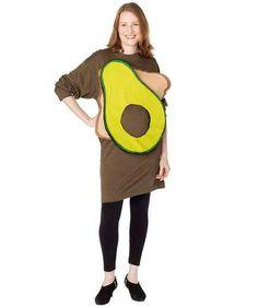 Creative Halloween Costumes for Pregnant Women | Avocado Toast Costume