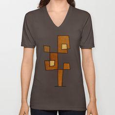 Protoglifo I V-neck T-shirt