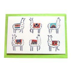 Llama-rama Card