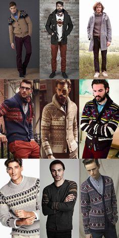 Men's Christmas Knitwear Lookbook