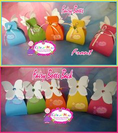 Fairy Favor Boxes set of 5 by KitsandMore on Etsy, $10.00