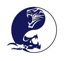 yin yang wallpaper by - 02 - Free on ZEDGE™ Dragon And Tiger Yin Yang Tattoo, Tiger Dragon, Dragon Tattoo For Women, Dojo, Yin Yang Designs, Yin Yang Art, Lotus Flower Tattoo Design, Yin Yang Tattoos, Samurai Artwork