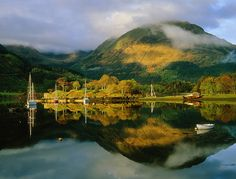 Loch Leven Moorings, North Ballachulish, Scotland...Most amazing rolling hills