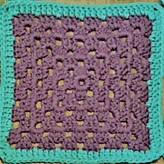 OMG…You guys!!! We are now on the last week of squares! We are going back to basics again this week. We will be making 8 squares of the basic granny...