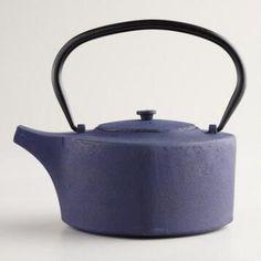 Sapphire Cast Iron Tea Kettles