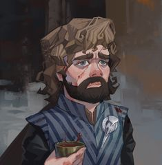 'Tyrion Lannister' by Lena Kroshilina Dessin Game Of Thrones, Arte Game Of Thrones, Game Of Thrones Cosplay, Game Of Thones, Best Fan, Fantasy Characters, Art Reference, Illustration Art, Fan Art