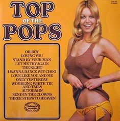 top of the pops vinyl album - Bing images Pop Rock, Rock And Roll, Frankie Valli, Pop Albums, Pochette Album, Send In The Clowns, Stand By You, Lp Cover, Pop Vinyl