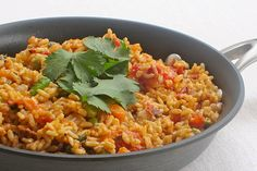 Skinny Mexican Rice Made this on 7/13/15- Allow at least an hour to make, and instead of simmering on low heat, simmer on med-low for the 45 min. It was no where near done in time last night, and the rice was still a bit too hard. will be much better next time with thoroughly cooked rice