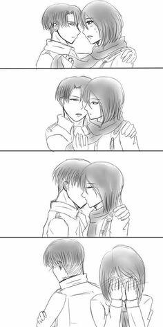 Rivamika love Levi x Mikasa Ackermans Shingeki No Kyojin Anime Attack on titan Attack On Titan Funny, Attack On Titan Ships, Attack On Titan Anime, Levi Mikasa, Armin, Levi Titan, Rivamika, Eremika, Free Anime