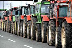 Κινητοποιήσεις ετοιμάζουν οι αγρότες και οι κτηνοτρόφοι Thessaloniki, Tractors, Vehicles, Cyprus News, Car, Vehicle, Tools