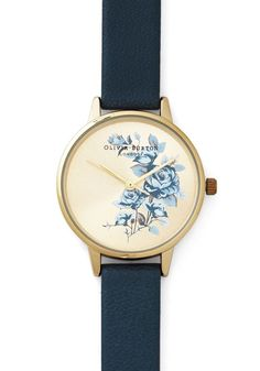 Flowers Fly By Watch, @ModCloth