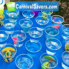 Fish Cup DIY Almost Free Carnival Game