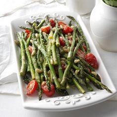 Tuscan Style Roasted Asparagus