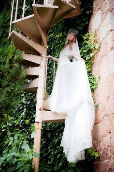 Las novias del siglo XXI adoran el vintage: vestido princesa