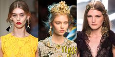 From gilded headbands to earrings for every taste, the top bijoux to covet.