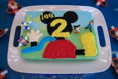 Micky Mouse Clubhouse Girl Birthday Cakes | ... kaylee a mickey mouse clubhouse birthday cake for her 2nd birthday