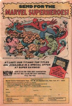 1978 comic books | 1978 Comic Book ads: Toys and bizarre mail order catalogs
