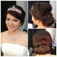 Excellent Wedding Hairstyles And Wedding Dinner On Pinterest Short Hairstyles Gunalazisus