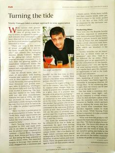Ashwin Deo, MD, Turning Point Wine in Business India