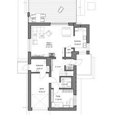 Plan parter casa cu 4 dormitoare Floor Plans, Diagram, Case, Floor Plan Drawing, House Floor Plans