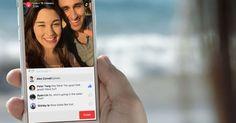 App do Facebook ganha função de transmissão em vídeo ao vivo