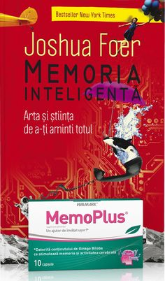 Joshua Foer - Memoria inteligenta. Arta si stiinta de a-ti aminti totul - New York Times, Metabolism, Club, Books, Medicine, Libros, Book, Book Illustrations, Libri