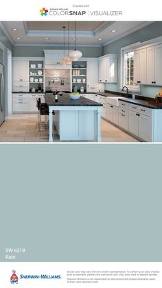 Sherwin Williams Silver Strand, Gauntlet Gray Sherwin Williams, Peppercorn Sherwin Williams, Interior Paint Colors, Paint Colors For Home, House Colors, Kitchen Paint, Wall Colors, Modern Kitchens