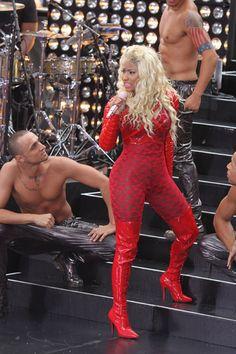 Nicki Minaj performs live at NBC Studios in New York City during 'The Today Show' Toyota Concert Series on August N Girls, Today Show, Nicki Minaj, Amazing Women, Movie Stars, Toyota, Rap, Harajuku, Athlete