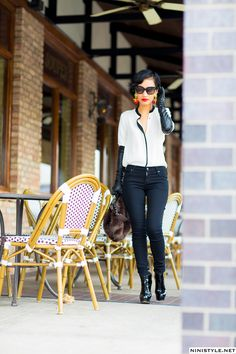 2012 October   Nini's Style A little Olivia Pope glove action going on here