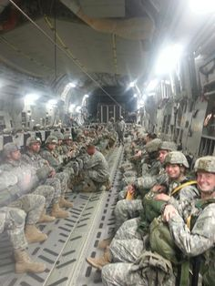 C-17 Hollywood Jump From My Daughter Serving in the US ARMY Fort Bragg, NC  82nd Airborne  68W Airborne Combat Medic