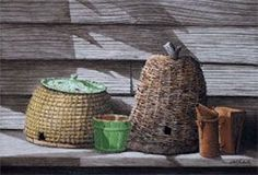 """Bob Timberlake Limited Edition titled """"Studio Behives"""" S/N Offset Lithograph #Realism"""