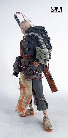 jooky: samurai by toybot studios on Flickr. - Babel Infocalypse