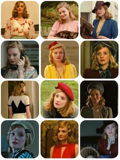 """Love Romola Garai's character - Anne - in """"Glorious 39"""". Forties style!"""