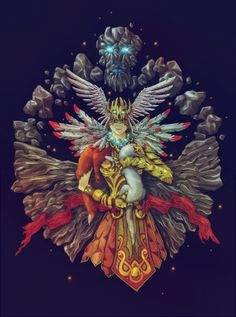 Nirriti by Sergey Avdaschinkov, via Behance