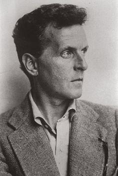 Wittgenstein at the studio of Moritz Nahr, Vienna, 1930